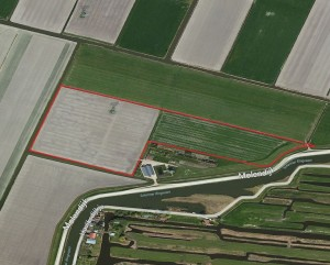 8,9 HA. AKKERBOUWGROND IN DE SCHERMER
