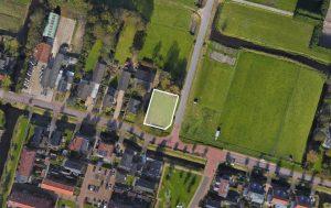 Bouwkavel van 721 m² in Sint Pancras