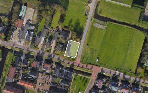 Bouwkavel van 700 m² in Sint Pancras