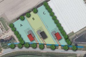 Herontwikkelingslocatie t.b.v. 3 bouwkavels