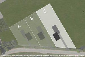 Bouwkavel C van 1.900 M² in Dirkshorn